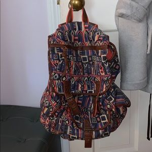 Ecote women's canvas backpack